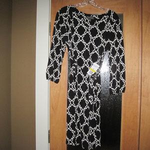 Black Dress Luxology Size M NWT